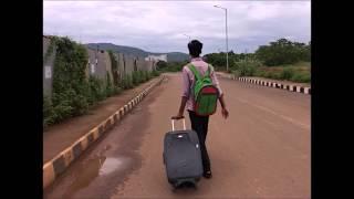 First day at IIT BHUBANESHWAR