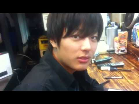 Very handsome japanese boy