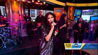 Nicole Scherzinger - Don't Hold Your Breath Live On Good Morning America HD
