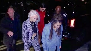 EXCLUSIVE - Cara Delevingne, Kendall Jenner and more celebrates Madison Beer Birthday in Paris