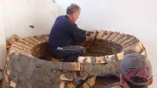 Τάσος Tζότζολης - Κατασκευή παραδοσιακού ξυλόφουρνου