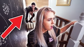 HIDE AND SEEK WITH MY FAMILY!! (In Jake Mitchell's HOUSE!)