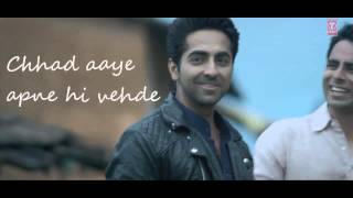 Mitti Di Khushboo LYRICS WITH VIDEO Song | Ayushmann Khurrana | Rochak Kohli