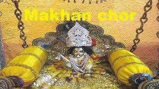 लड्डू गोपाल जी का चमत्कार miracle of god makhan chor lela