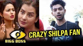 Crazy Shilpa Shinde Fans Message To Hina Khan   Bigg Boss 11