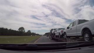 420 MPH On The Highway Time Lapse
