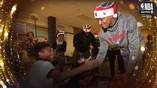 Bradley Beal Wins the NBA Cares Community Assist Award | 2019 NBA Awards
