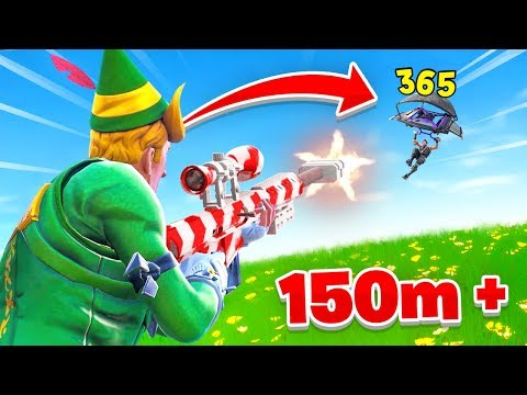 I can t believe I hit this snipe In Fortnite