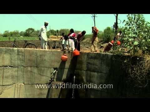 Manegaon village faces acute water shortage, even drought
