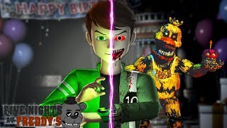 Minecraft FIVE NIGHTS AT FREDDY'S - BEN 10.EXE HAS BEEN CREATED & HE TOOK OVER THE FNAF HOTEL!!