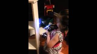 Keila building a closet