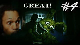 I BEAT PLUSHTRAP MINI-GAME! | Five Nights At Freddy