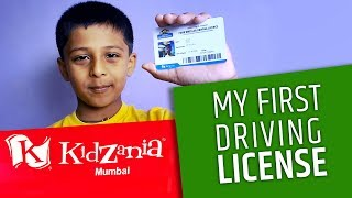 My First Driving License | KidZania | Maruti Driving School | R City Mall Ghatkopar | किडजानिया
