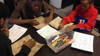 Papyrus Paper and Hieroglyphic Writing