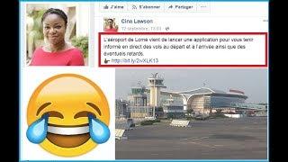 La Ministre Cina Lawson ridiculisée par des animateurs d'Africa N*1 et moquée sur facebook