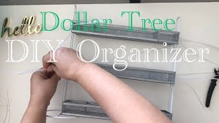 DOLLAR TREE DIY PORTABLE MULTIPURPOSE ORGANIZER Cheap & Easy   Great for Spices & Seasonings, Craft,