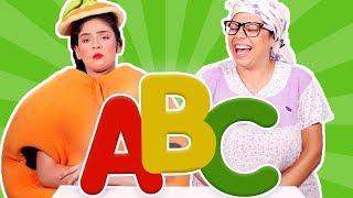 فوزي موزي وتوتي -  الأحرف الانجليزية - ABC