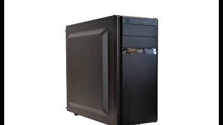 Silverstone PS11 vs PS11Q entry level computer case overview