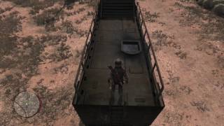 Red Dead Redemption - The Great Mexican Train Robbery: Blow Armored Train Car & Crack Safe Tutorial