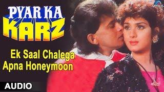 Pyar Ka Karz : Ek Saal Chalega Apna Honeymoon Full Audio Song | Mithun Chakraborthy |