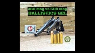 460 S&W Magnum vs 500 S&W Magnum (Ballistics Gel)