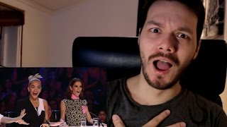 4th Impact (4th Power) First Audition on The X Factor UK 2015 | REACTION!!!