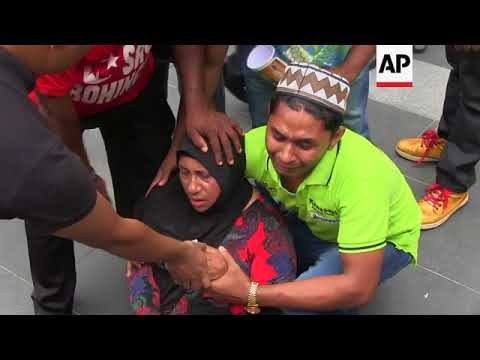 Xxx Mp4 Rohingya Migrants In Malaysia Protest Violence In Myanmar 3gp Sex