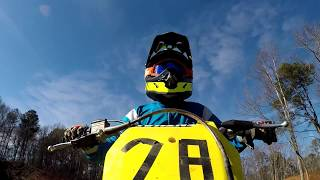 Top max speed on the Rm 85 dirt bike!! Stock