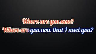 Skrillex & Diplo Featuring Justin Bieber - Where Are U Now Lyrics and Karaoke