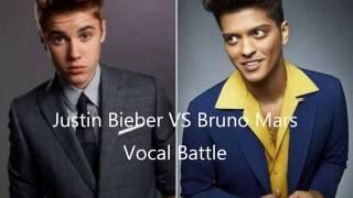 Vocal Battle: Justin Bieber vs Bruno Mars - Best Lives And High Notes