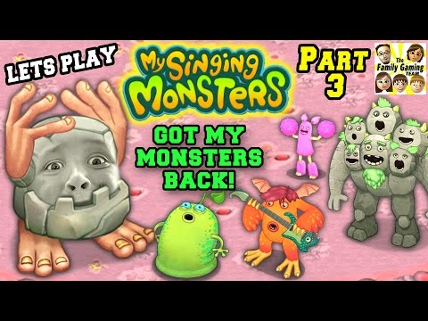 Lets Play MY SINGING MONSTERS Part 3 Mike Lost His Stuff FGTEEV Face Cam Commentary