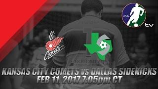 Kansas City Comets vs Dallas Sidekicks