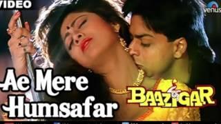 Ae Mere Humsafar | Baazigar| Shahrukh Khan| Shilpa Shetty |Saxophone Cover| SUHEL KHILJI
