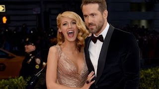 Ryan Reynolds Grabs Wife Blake Lively