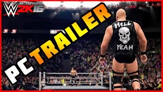 WWE 2K16 PC Official Trailer!!