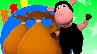 Baa Baa Black Sheep | Junior Squad Song For Childrens |  Kindergarten Nursery Rhymes by Kids Tv