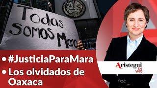 """Aristegui en Vivo 18 de septiembre: justicia para Mara, el grito, """"el anti-grito"""" y más…"""