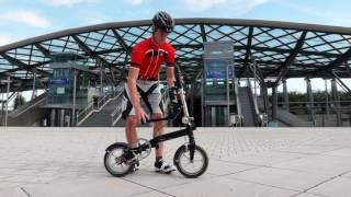 Kwiggle® ease your Life! - the worlds most compact folding bike