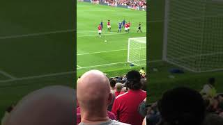 Anthony Martial penalty v Everton