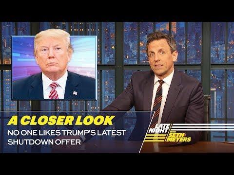 Xxx Mp4 No One Likes Trump S Latest Shutdown Offer A Closer Look 3gp Sex