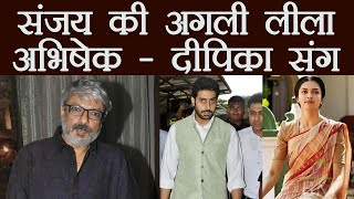 Deepika Padukone & Abhishek Bachchan in Sanjay Leela Bhansali
