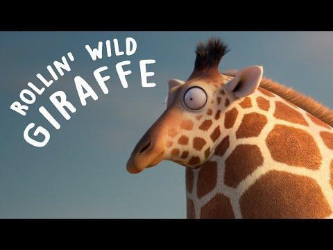ROLLIN WILD Giraffe what if animals were round