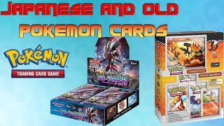 WW: Japanese Pokemon Booster Box and Old Pokemon Collection Box