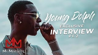 Young Dolph - 'My Mom and Dad didn't have it together at 3yrs old I knew what crack cocaine was'
