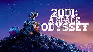 WALL-E Trailer - (2001: A Space Odyssey Style)