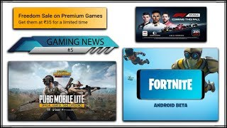 [GAMING NEWS #5] | Download Fortnite Beta Apk + Data | Pubg Mobile lite download | For Android