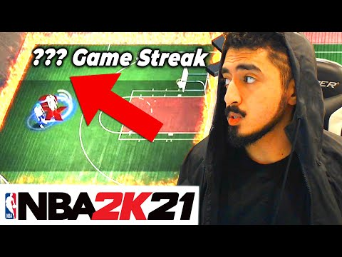 I GOT MY BIGGEST WIN STREAK EVER in NBA 2K21 UNBELIEVABLE