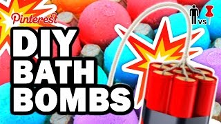 DIY Bath Bombs - Pinterest Test #80 - Man Vs Pin