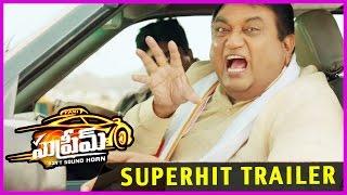 Supreme Movie Latest Superhit Trailer -  Sai Dharam Tej , Raasi Khanna