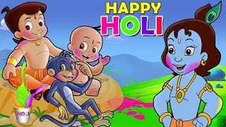 Chhota Bheem - Holi in Vrindavan | Holi Special Video Song 2019